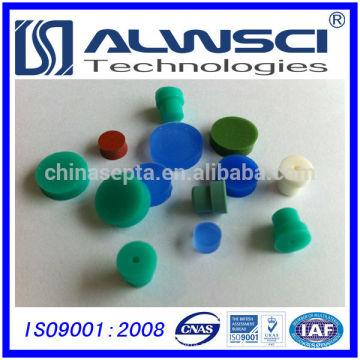 9mm Silikon Hochtemperatur Blau GC Septa