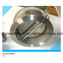 API Stainless Steel Double/Dual Plate Wafer Check Valve