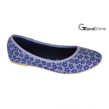 Women′s Canvas Flat Casual Ballet Shoes