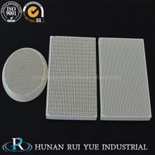 Заказной огнеупорных кордиеритовый керамических деталей