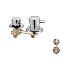 Factory wholesale 2 functions chrome  mixer tap  bathroom shower faucet