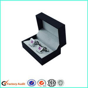 Custom Made Hinged Cufflink Paper Storage Box