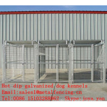 China supplier portable metal panel dog kennels outdoor used dog kennels hot dip galvanized dog kennels