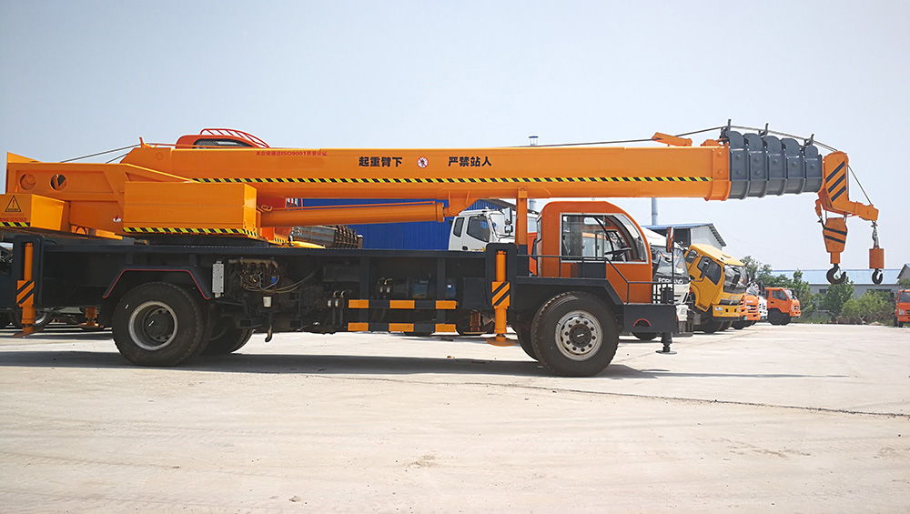 Mobile Truck Mounted Cranes