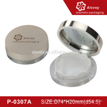 New design luxury empty compact powder container wholesale