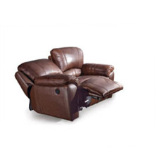 Sofá de la sala de estar con el sofá moderno del cuero genuino (913)