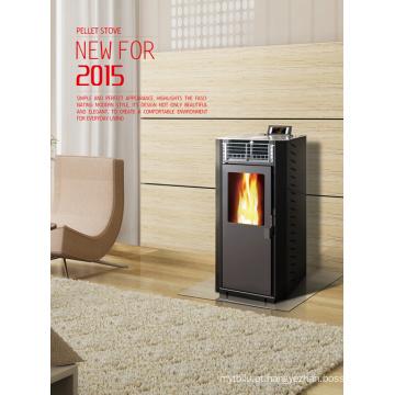 Biomassa madeira Pellet fogão com En14785 (CR-01)