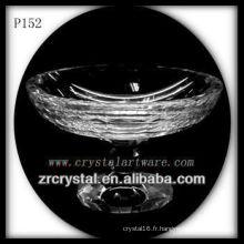Magnifique récipient en cristal P152