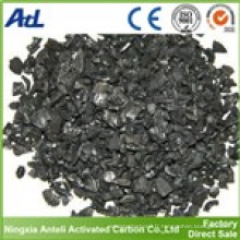 charbon actif pour l'extraction de métal