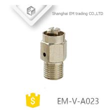 EM-V-A023 Manueller Messing-Nickel-Plated Kühleranschluss Luftauslassventil