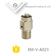 EM-V-A023 Válvula de liberación de aire de montaje manual del radiador niquelado de latón