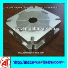 Powerful sintered large size multipolar magnet