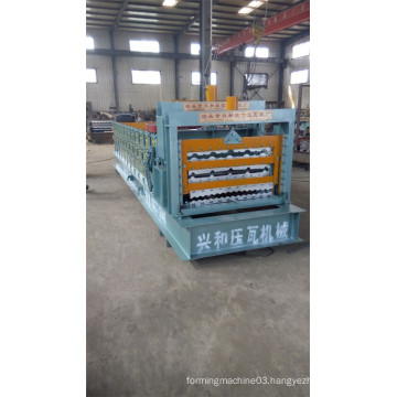 Lowest Price Building Roofing Tile Roll Forming Machine