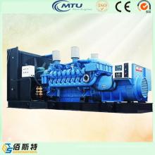 Générateur de moteur diesel Mtu à 2750kVA refroidi à l'eau