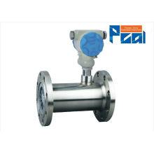 LWQ medidor de flujo de turbina de gas para el medidor de flujo de aire comprimido