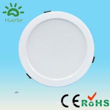 Shenzhen Huerler neues Produkt weißes dünnes 30led 6 Zoll Loch 150mm 100-240v 110v 220v 230v smd5730 15w runde geführtes downlight