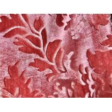 dyed printing Jacquard flocking fabric