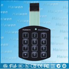 Пользовательский прототип мембранного переключателя на 12 клавиш