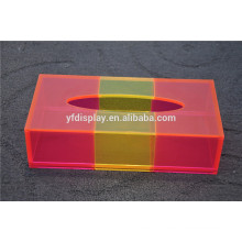 boîte à mouchoirs en plastique petite impression personnalisée