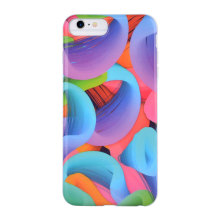 Colorful Whirlwind Cellula Mobile Phone Case for IMD iPhone 6S Case
