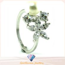 Anillo de plata de la joyería de la alta calidad 925 del precio de fábrica (R10446)