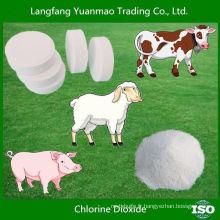 Désinfectant vétérinaire clo2 pour désinfectant pour bétail