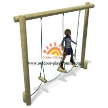 Balanço ao ar livre passos equilíbrio Playground para crianças
