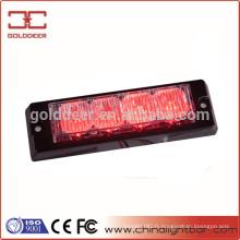 Trafic d'avertissement rouge moto Led lampes stroboscopiques (GXT-4)
