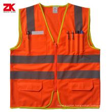 Hi-vis yellow reflective vest