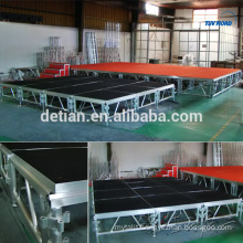 Aluminum truss stage trade show booth construction booth space design