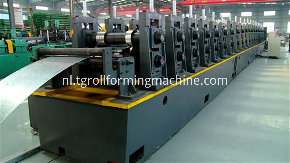 Side Beam Of Stereo Garage Roll Rorming Machine