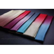 Farbe geänderter Diamant-Korn 100% Kaschmir-Schal