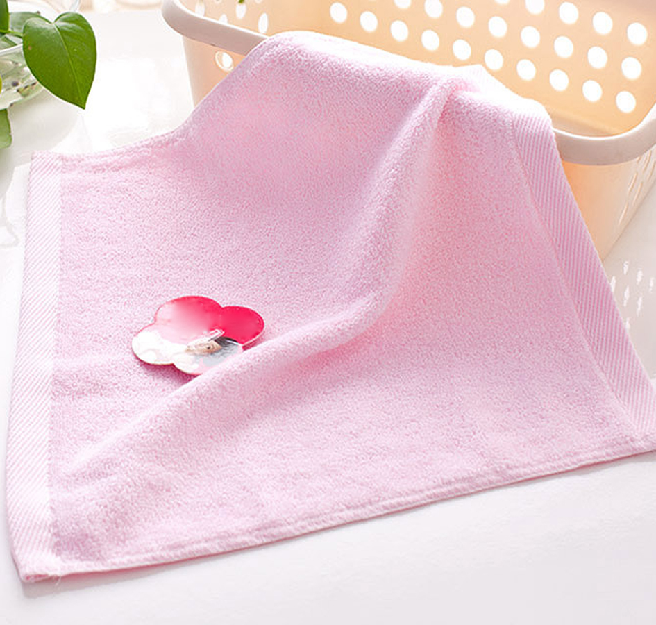 Eco Friendly Antibacterial Bamboo Charcoal Face Towels