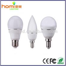 4W alumínio com corpo branco LED bulbo smd2835 IC motorista 80lm/w, lâmpada de LED 2 ano garantia