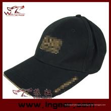 Alta qualidade em branco Flat Top tático militar Cap chapéu