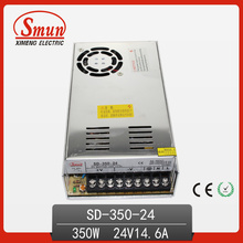 350W 24V 14.6A DC-DC Switching Power Supply com CE RoHS Aprovado e 2 Anos de Garantia