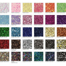 high temperature resistent glitter powder