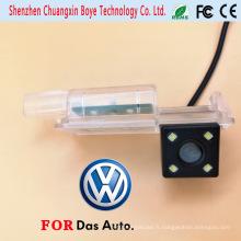 Caméra de sauvegarde de voiture spéciale Vision nocturne avec 4PCS Super Brihgt LED Lights pour Volkswagen Golf7 / Cc / Scirocco / Lamando