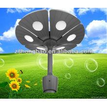 Высокие люмены солнечные светодиодные фонари сада / светодиодные лампы сада