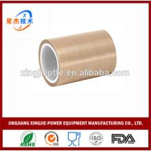 Fibre de verre revêtue de fibre de verre usine directement haute qualité non collant PTFE ruban