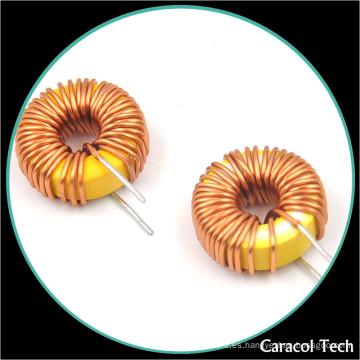 Inductor toroidal de alta potencia de la venta directa de la fábrica 10uh 3a para la placa de circuito