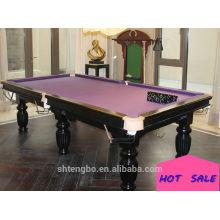 2015 Le jeu de table de sport classique le plus populaire 9ft automatique matic mahjong table