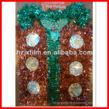 Metallisierte pet tinsel film