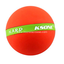 Natural rubber massage ball roller