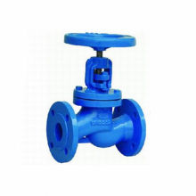 Standard cast iron flanged pn16 globe valves for water supply