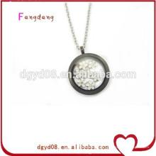 alta qualidade pingente de medalhão flutuante de aço inoxidável 316L de fabricante medalhão profissional