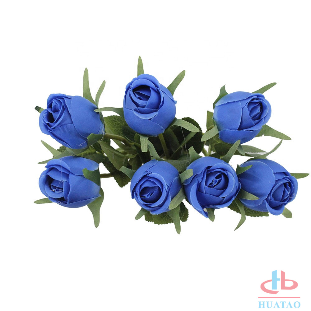 7-heads-artificial-flower-yellow-rose-flower