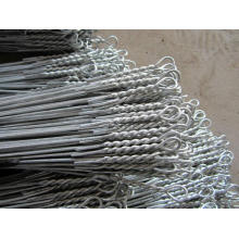 High strength galvanized cotton baling tie wire