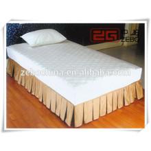 Falda plisada de la cama cabida con buena calidad