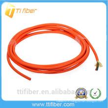 Câble optique à fibre optique optique interchangeable Duplex 2.0mm multimode 50/125